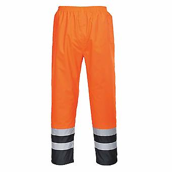 Portwest - Hi-Vis Two Tone Waterproof Workwear Trousers