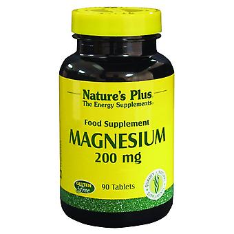 Natures Plus Magnesium 200mg  90 tablets