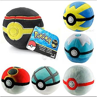 Peluche Pokemon Pokeball - 1 fourni