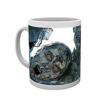 The Walking Dead Mug Walkers Window zombies AMC Official New Boxed