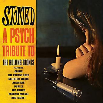 Empedrado - tributo a los Rolling Stones Psych - Stoned - Psych tributo a la importación de Estados Unidos de los Rolling Stones [CD]