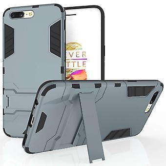 OnePlus 5 Case Reinforced Shock Absorbing Case - Steel Blue