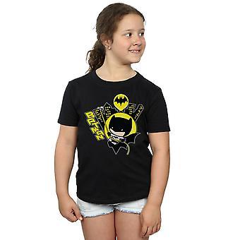DC Comics Girls Chibi Batman Swinging T-Shirt