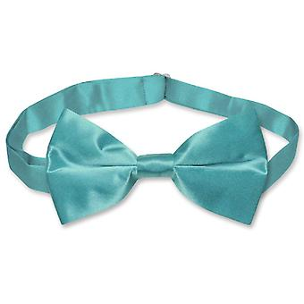 BIAGIO 100% SILK BOWTIE Solid Men's Bow Tie for Tux or Suit