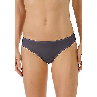 Mey 79843-928 Women's Joan Diamond Black Solid Colour Knickers Panty Brief