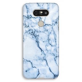 LG G5 Full Print Case - Blue marble