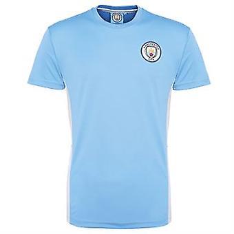 Jersey de formation officiel Manchester City (bleu ciel)