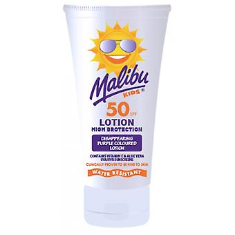 Malibu Kids Purple Sun Lotion SPF50
