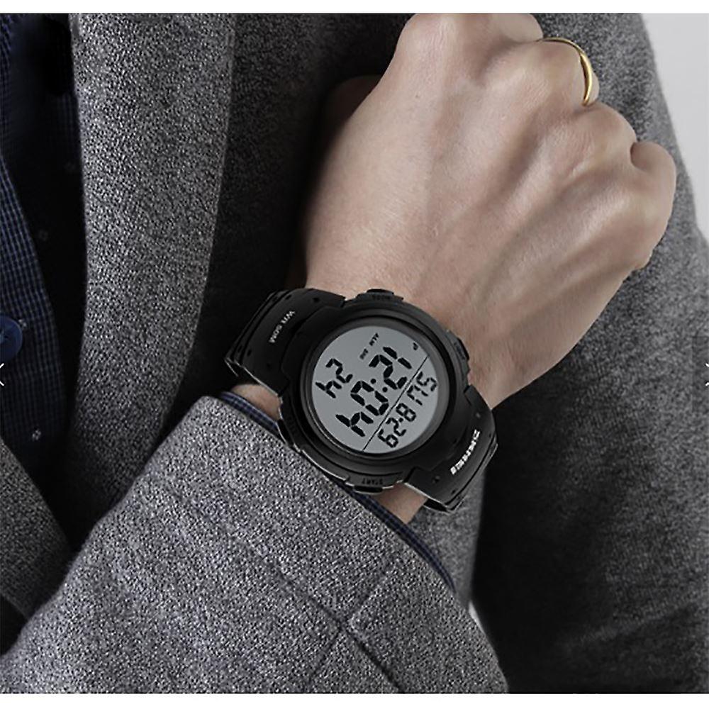 Skmei Extra Large Display Digitial Watch 50m Sports Watch Stopwatch & Alarm 1068