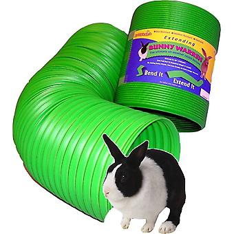 SnuggleSafe All Weather Flexible Bunny Warren Fun Tunnel