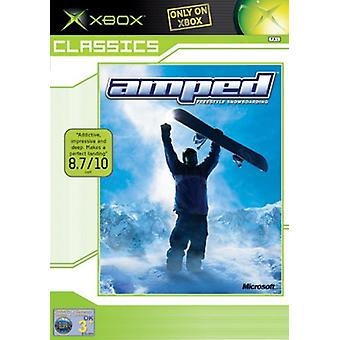 Amped Freestyle Snowboarding (Xbox Classics) - Factory Sealed