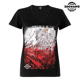 Zoonamo T-Shirt ladies classic Poland