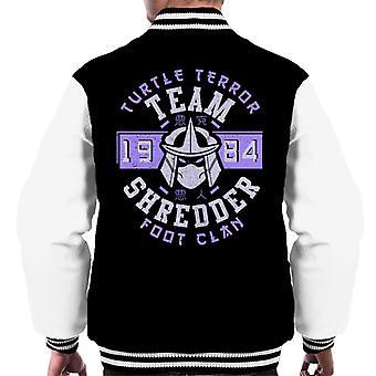 Teenage Mutant Ninja Turtles Shredder Foot Clan Men's Varsity Jacket