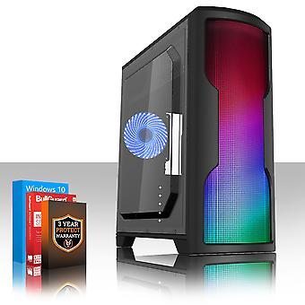 Fierce CYPHER Gaming PC, Fast Intel Core i7 8700K 4.5GHz, 1TB SSHD, 8GB RAM, GTX 1060 6GB