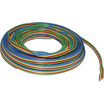 BELI-BECO L418/5 Strand 4 x 0.14 mm² Green, Red, Yellow, Blue 5 m