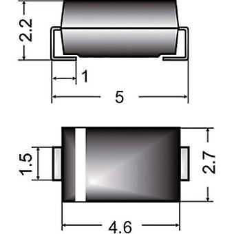 Semikron 03898852 FRA1M SMD Diode