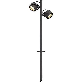 Outdoor free standing light Energy-saving bulb GX53 9 W SLV SITRA 360 231535 Anthracite