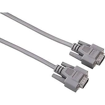 Hama VGA Cable [1x VGA plug - 1x VGA plug] 3 m Grey