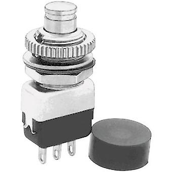 APEM 10435A Pushbutton 220 V AC 2 A 1 x On/(Off) momentary 1 pc(s)