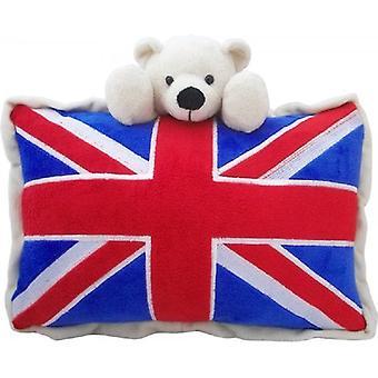 Union Jack usura Union Jack Bear cuscino