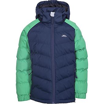 Trespass Boys Sidespin Waterproof Windproof Insulated Warm Jacket Coat
