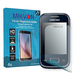 Samsung Galaxy Pocket Plus (S5301) Screen Protector - Mikvon Armor Screen Protector (Retail Package with accessories)