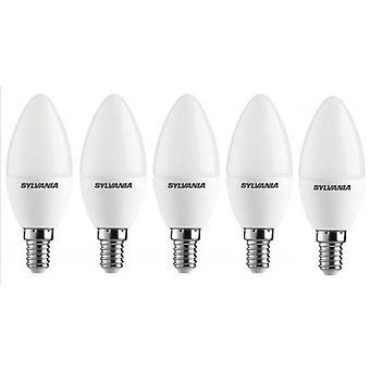 5 x توليدو سيلفانيا شمعة E14 V3 3.2W 250lm الصيفي الصمام [الطاقة الفئة A +]