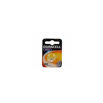 Duracell D364 Knoopcel Batterij Zilver