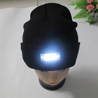 Beamie Hat with LED light black