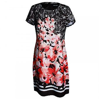 Betty Barclay Women's Floral Short Sleeve A Line Dress