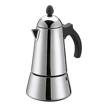 GAT Eterna - Induction Moka Stove Top Coffee Espresso Maker - Stainless Steel - Various Sizes