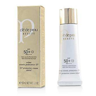Cle De Peau UV Protective Cream Tinted SPF 50 - Pink 30ml/1.1oz