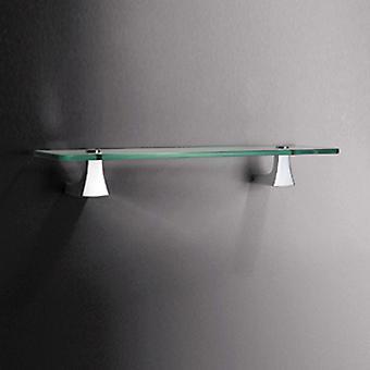 Sonia S7 Glass Shelf 45cm Chrome 131587