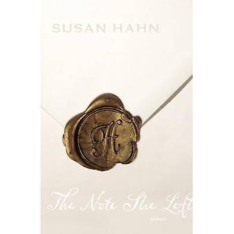 Anteckningen hon lämnade - dikter av Susan Hahn - 9780810124875 bok