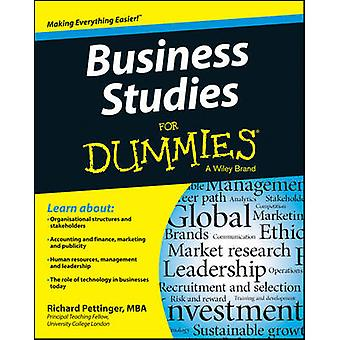 Business Studies For Dummies(R) by Richard Pettinger - 9781118348116