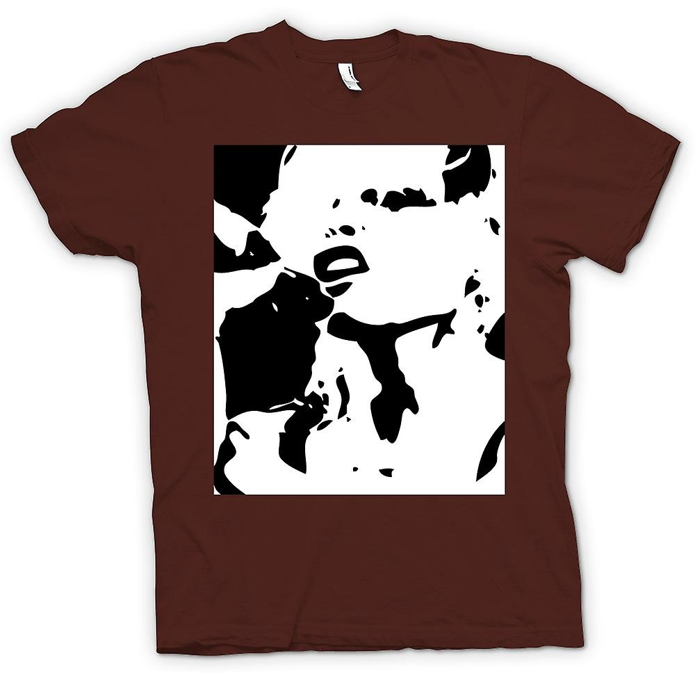 Mens T-shirt - Blondie - retro Music BW