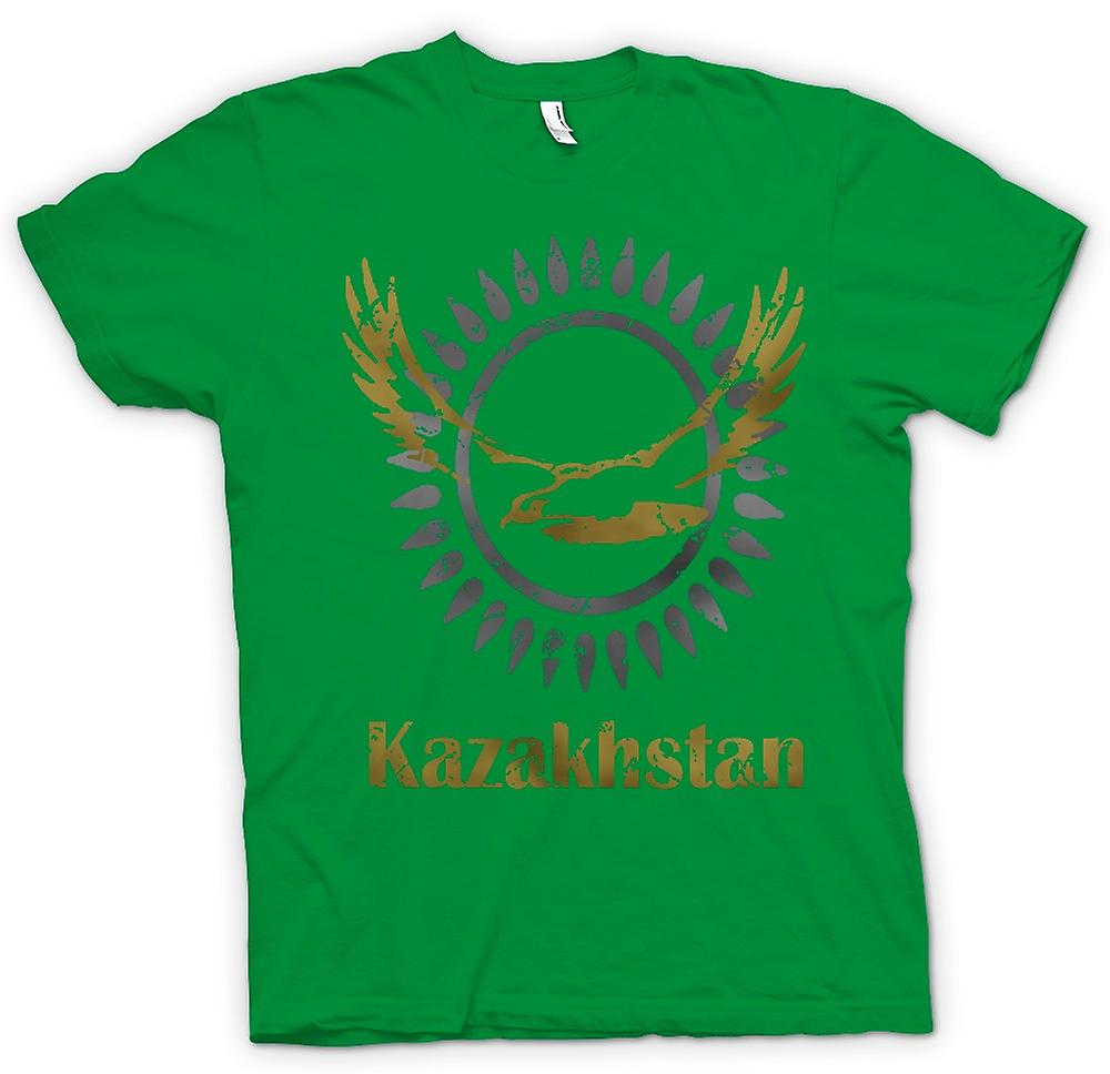 Mens T-shirt - Kasachstan - Cool Design Funny