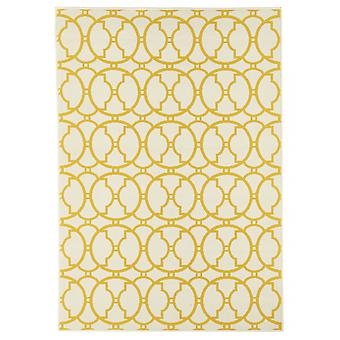 Outdoor carpet for Terrace / balcony yellow off-white vitaminic interlaced ivory 133 / 190 cm carpet indoor / outdoor - for indoors and outdoors
