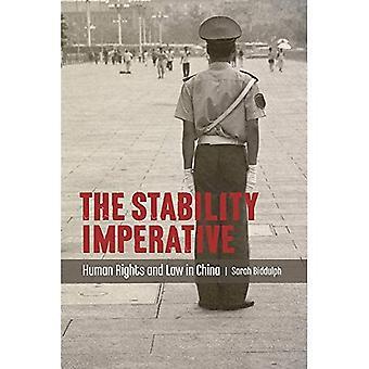 Stabilitet imperativ (Asia-Pacific rättslig kultur och globalisering)