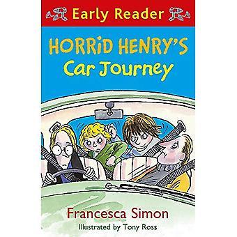 Trajet en voiture de horrid Henry (lecteur précoce): premiers lecteurs