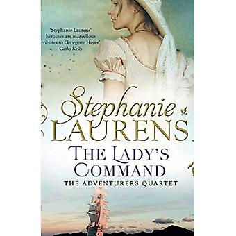 The Lady's Command (The Adventurers Quartet, Book 1)