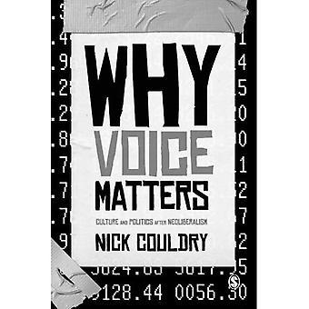 Warum zählt Stimme: Kultur und Politik nach dem Neoliberalismus