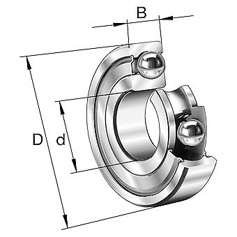 Fag 608-2Z Mini Pop Deep Groove Ball Bearing