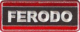 Ferodo iron-on/sew-on cloth patch