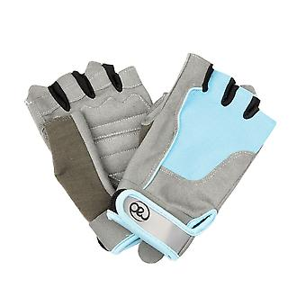 Fitness Mad Ladies Cross Training Gloves in Blue - Small