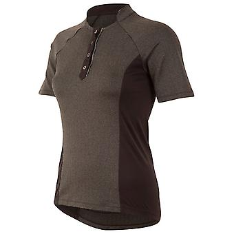 Pearl Izumi Black Herringbone Select Escape Womens Short Sleeved Cycling Jersey