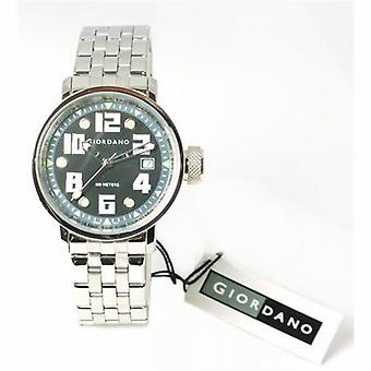 Giordano Black Dial Bracelet sangle Gents Fashion Watch 1117-11