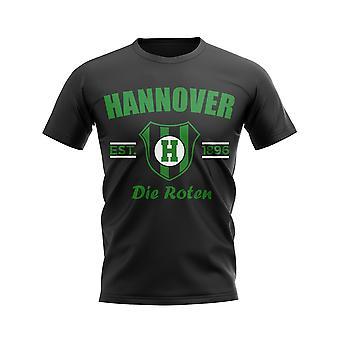 Hannover Established Football T-Shirt (Black)