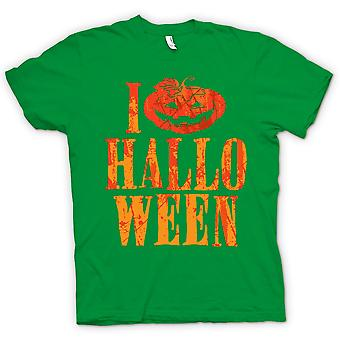 Kids T-shirt - I Love Halloween