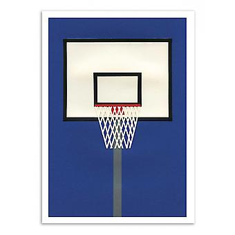 Art-poster-Oakland Basketball Team-Rosi Feist 50 x 70 cm